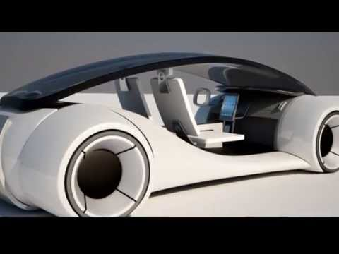 Apple iCar Titan - electric car design rumor
