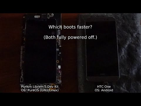Librem 5 vs Android -- Which boots faster?