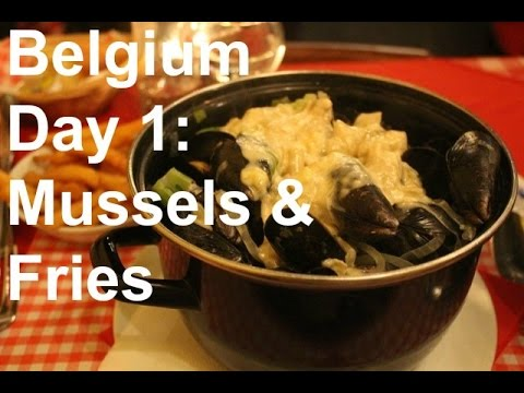 Belgium: Mussels and Fries
