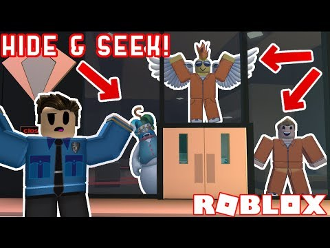 4 Person Hide And Seek In Roblox Jailbreak! *PART 2*