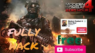 How To Download Modern Combat 4 Zero Hour Mod Apk And Data For Free On Android