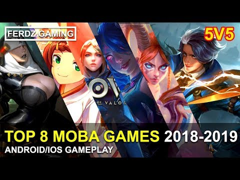 TOP 8 Best 5v5 MOBA 2020 [ANDROID/IOS] Gameplay