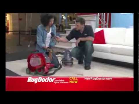 Rug Doctor Portable Spot Cleaner Tv Commercial