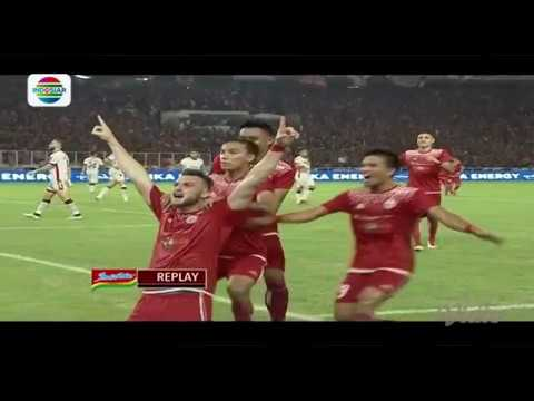 Persija (3) vs Bali United (0) - Highlight Goal dan Peluang Final Piala Presiden 2018