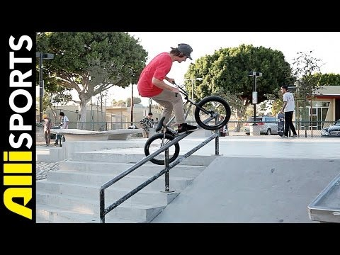 Broc Raiford Hits Up Odyssey, Volume Warehouses Then Rides, Alli Sports Day With
