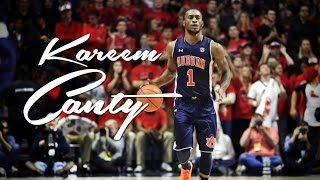 Kareem CANTY Leader of the Auburn Tigers