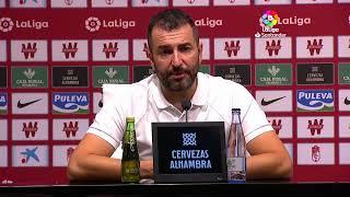 Rueda de prensa Granada CF vs Valencia CF