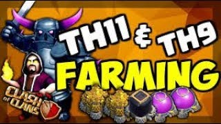 Let's Take Reward.....Farm To Max TH9..+ TH12 Push To 6K....