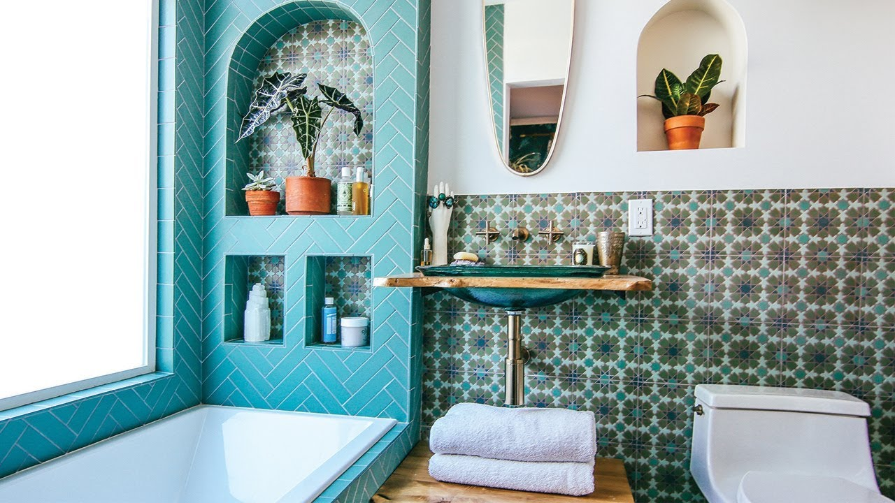 The Jungalow By Justina Blakeney Bathroom Remodel With Kohler