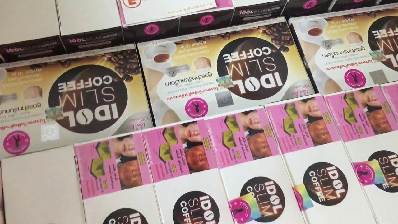 Phân Phối Cà Phê Giảm Cân Idol Slim Coffee Thái Lan - 0938416889