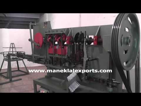 Paint Roller Frame Making Machine