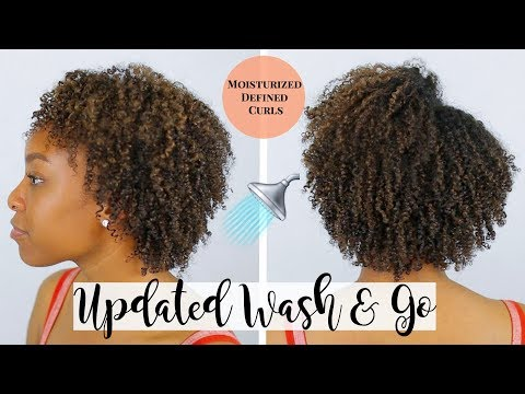 SPRING WASH & GO TUTORIAL 2019 | SUPER DEFINED CURLS THAT LASTS 7 DAYS!! | NATURAL HAIR