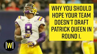 Patrick Queen Is Overrated | 2020 NFL Draft Player Breakdowns