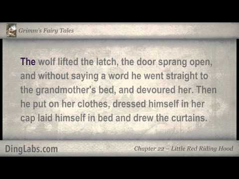 Little Red Riding Hood - Grimm's Fairy Tales by the Brothers Grimm - 22