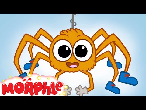 ♪ Itsy Bitsy Spider Song ♪ Nursery songs for children - Morphle's Nursery Rhymes
