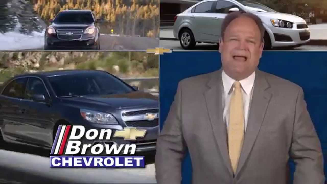 Don Brown Chevy >> Don Brown Chevrolet Low Interest Financing May 2014