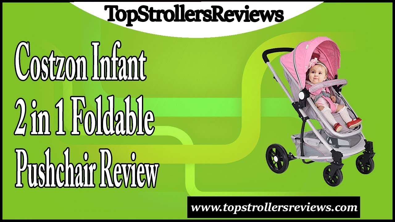 Costzon Infant Stroller 2 in 1 Foldable Baby Buggy Pushchair Review