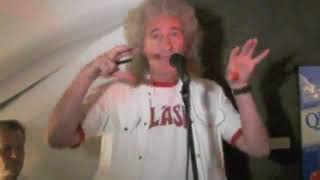 Brian May Speech   40 Years of Queen Book Launch