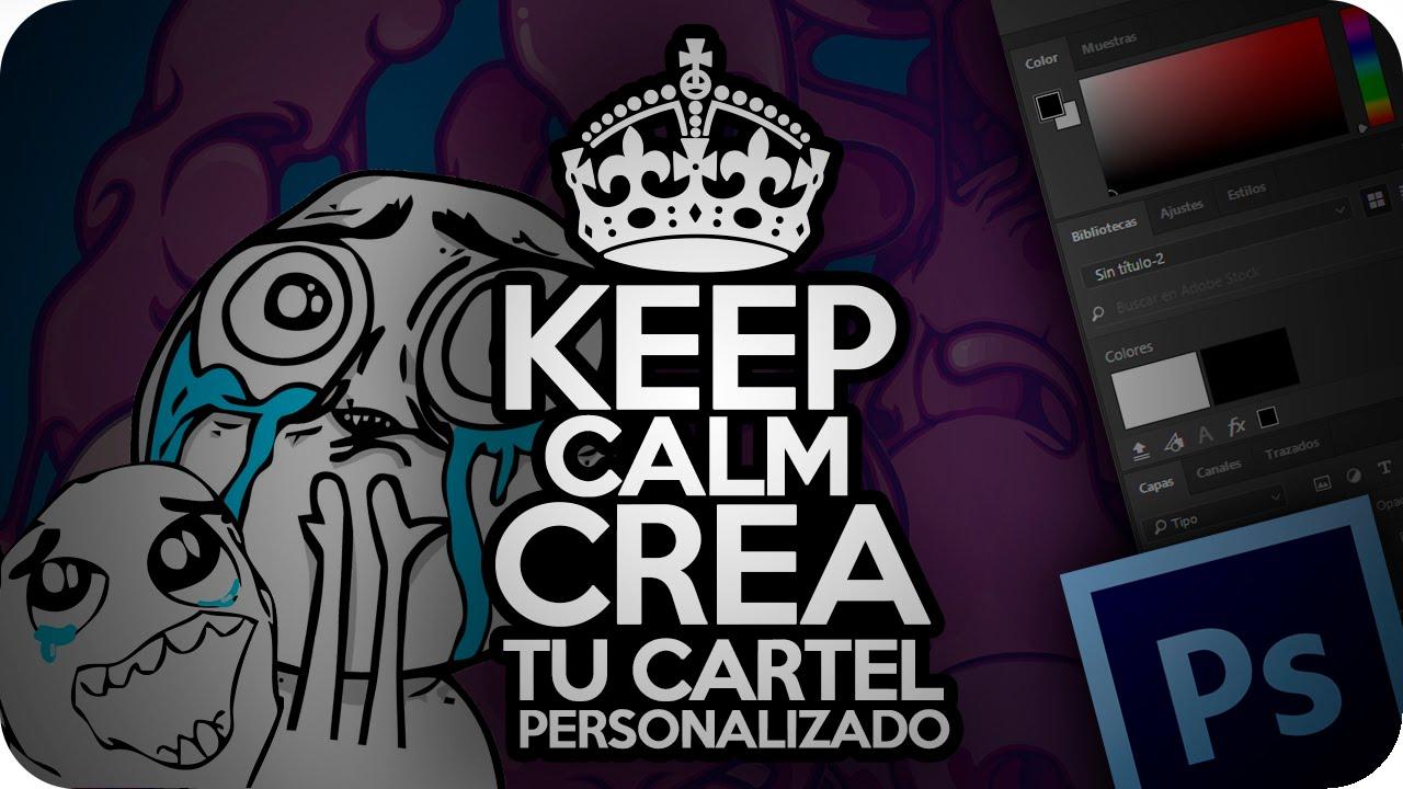 Plantillas Tarjeta Regalo Keep Calm