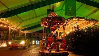 Der Drive-In-Weihnachtsmarkt in Landshut