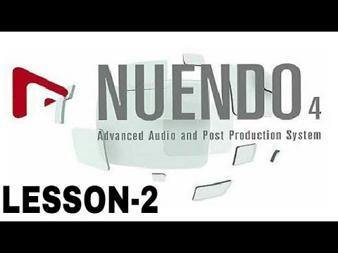 Cubase-5/nuendo-4/nuendo-3 tutorial for beginners in hindi. How to.