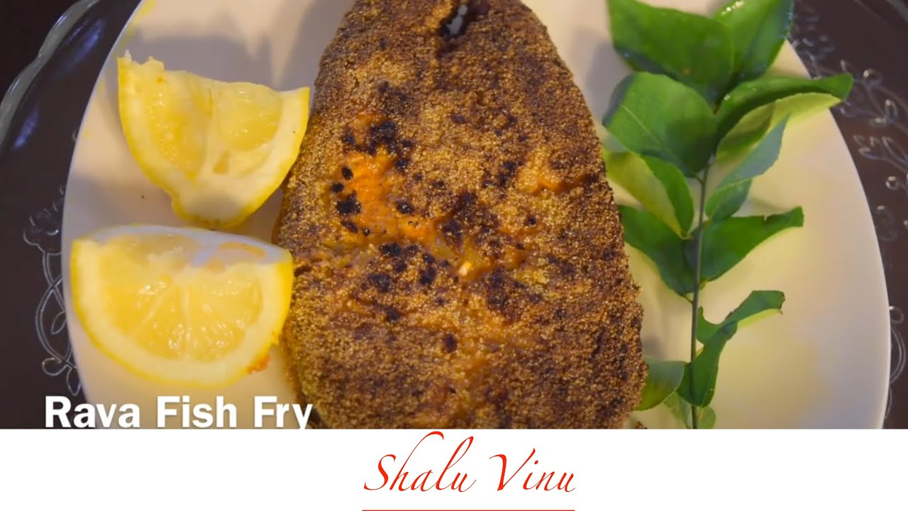 How to prepare crispy rava fish fry youtube for How to make fish fry