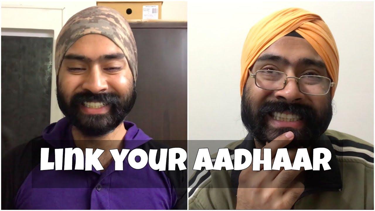 LINK YOUR AADHAAR   Harshdeep Ahuja - YouTube