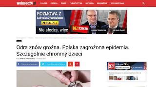 Epidemia Odry w Polsce