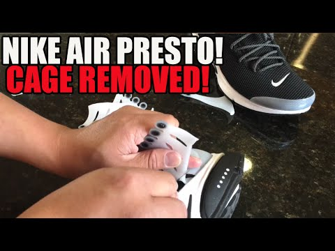 Nike Air Presto Cage Removal Tutorial Custom #YeezyEffect