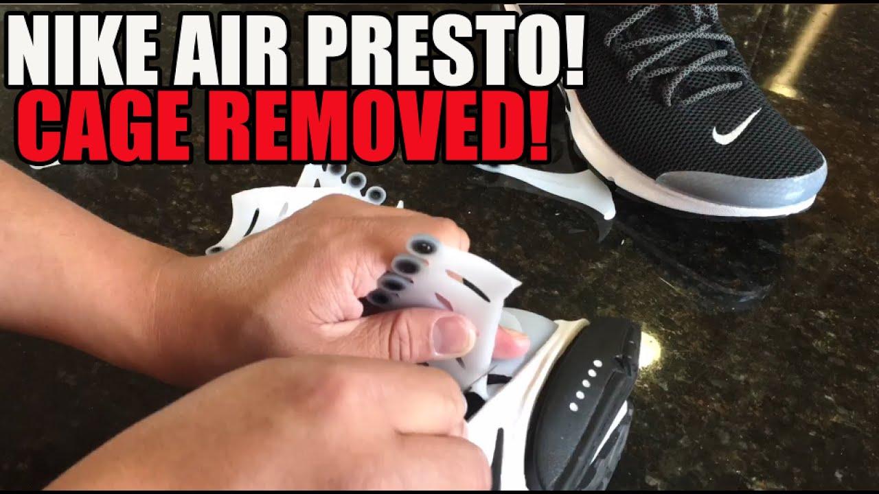f017ad9e138e Nike Air Presto Cage Removal Tutorial Custom  YeezyEffect - YouTube