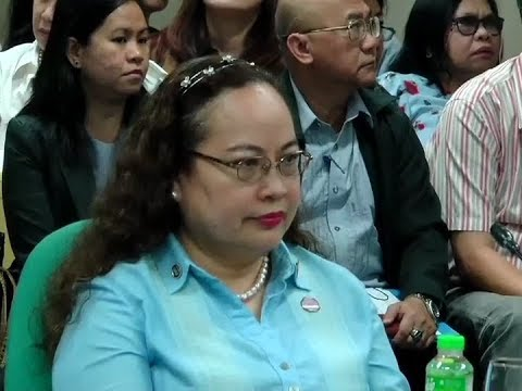 DOH Sec. Paulyn Jean Ubial, muling humarap sa Commission on Appointments
