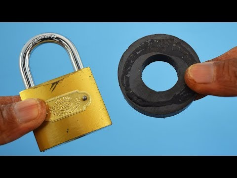 Смотреть Open a Lock with Magnet онлайн