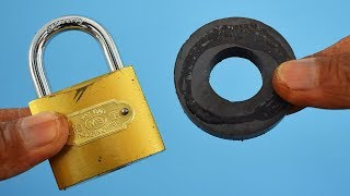 Open a Lock with Magnet