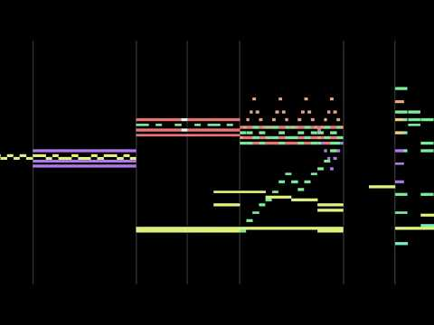 Random MIDI sounds + Beat = Music
