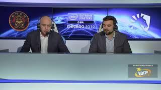 ENCE vs Team Liquid | IEM Chicago 2019 | FINAŁ | BO5