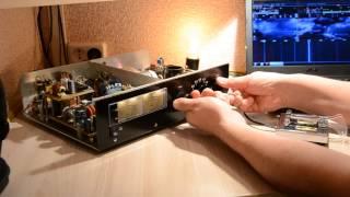 видео Ламповый двухтактный ШПУ (начало) - Усилители мощности высокой частоты - Радиосвязь - [Каталог статей]