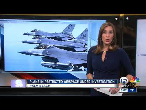 F-16s intercept small plane that violated President Trump's airspace