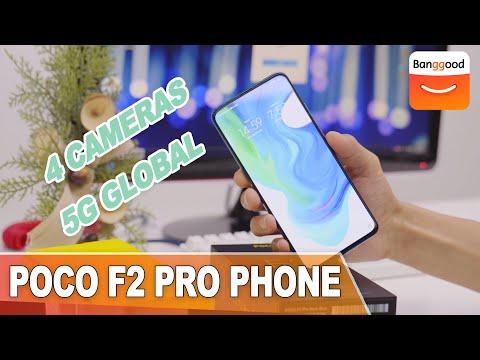POCO F2 Pro Global Version 5G Smartphone Unboxing|Buy at Banggood