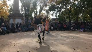 Indigenous Peoples Day Celebration 2017 - Ohkay Owingeh Two Spirits Dance Group Clip 8
