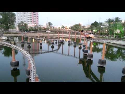 Bahrain water garden