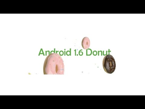 ANDROID DONUT | UPGRADED FEATURES OF PREVIOUS VERSION ANDROID CUPCAKE