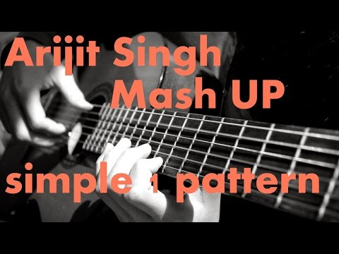 SIMPLE 1 PATTERN and BEST ARIJIT SINGH MASHUP ON GUITAR | COLLEGE FEST AND PROPOSING |