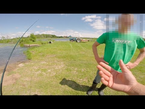 Confronted By Landowner while Fishing!!!