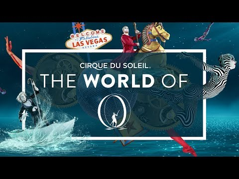 "A Surrealist Fantasy, Underwater Fires | Backstage in Las Vegas, The World of ""O"" 