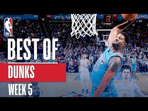 NBA's Best Dunks | Week 5