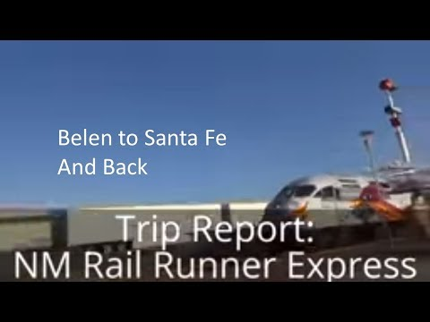 Trip Report: NM Rail Runner Express