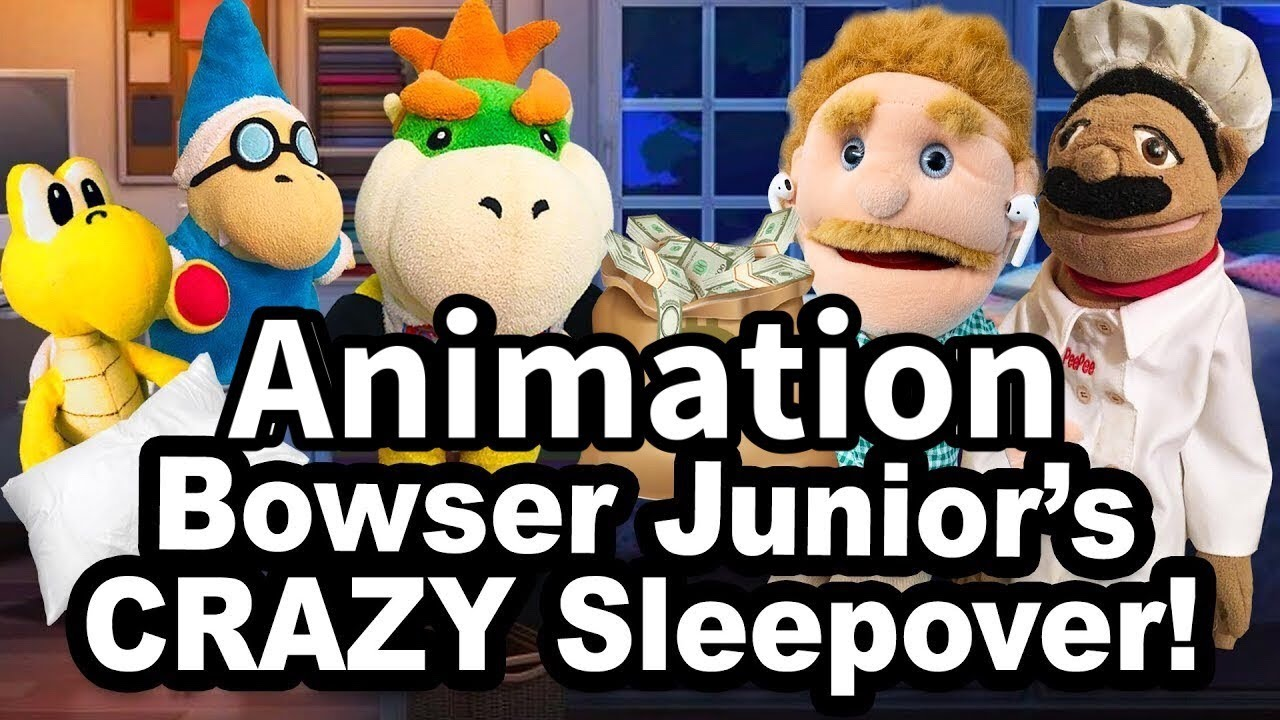 Sml Animation Bowser Junior S Crazy Sleepover
