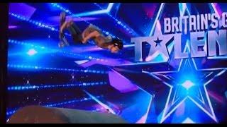 Child Scooter Daredevil TERRIFIES Amanda Holden | Auditions 2 | Britain's Got Talent 2017