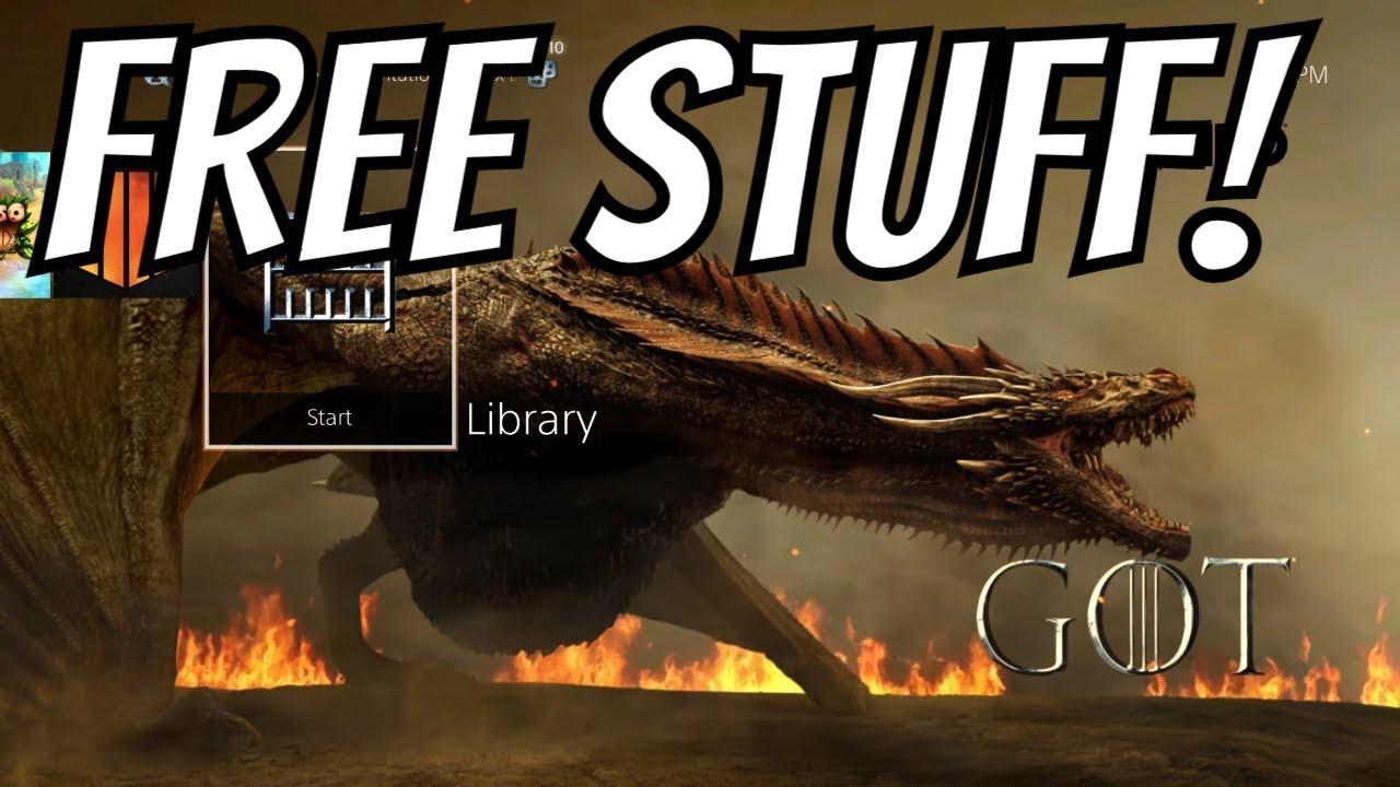 PS4 FREE THEME & 9 FREE PS4 AVATARS Game of Thrones season 8 4/14/19