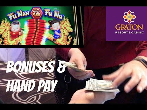 LINE HIT 💰 HANDPAY 🎰 ON FU NAN FU NU @ Graton Casino | NorCal Slot Guy